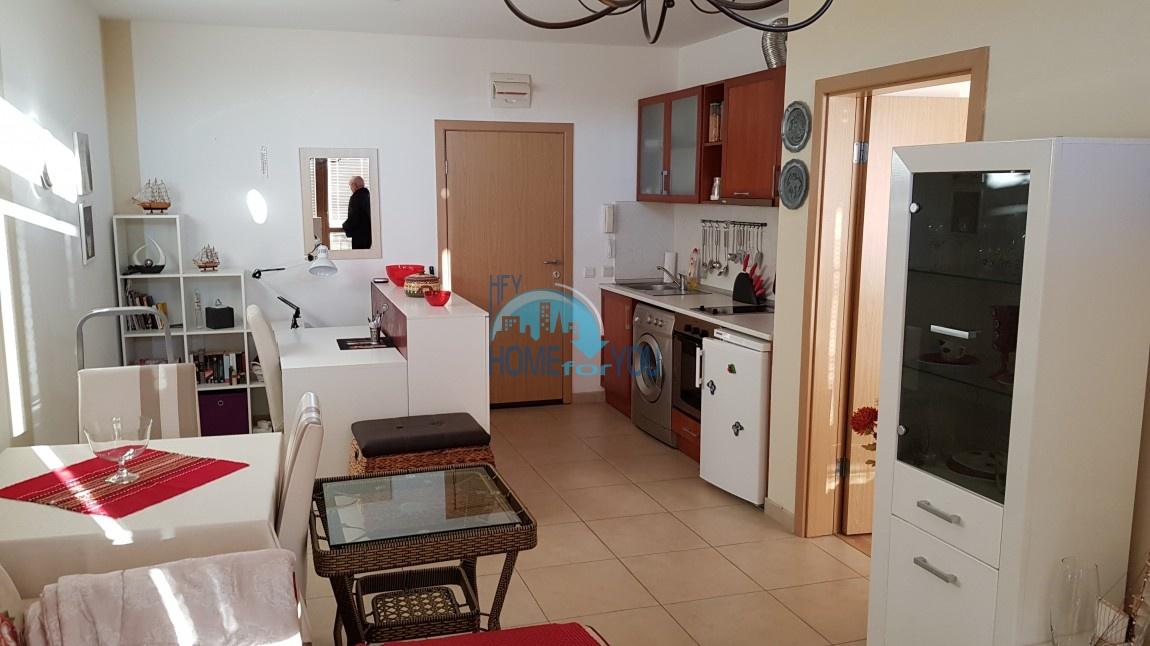 Отличная, новая двухкомнатная квартира на Солнечном берегу 3