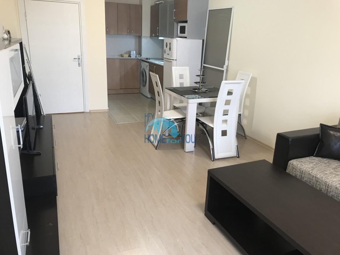 Отличная, новая двухкомнатная квартира на Солнечном берегу