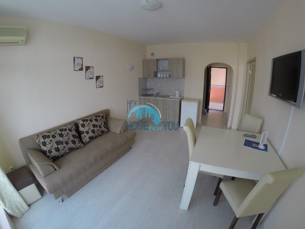 Отличная двухкомнатная квартира  в комплексе Роуз Гарден, Солнечный берег
