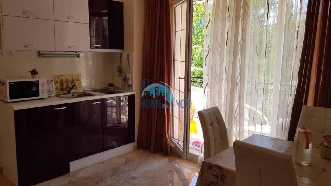 Отличная, уютная двухкомнатная квартира в комплексе Венера Палас, Солнечный берег