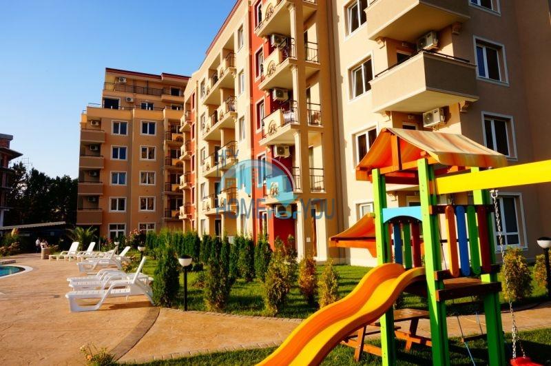 Продажа недорогих квартир под ключ на курорте Солнечный берег