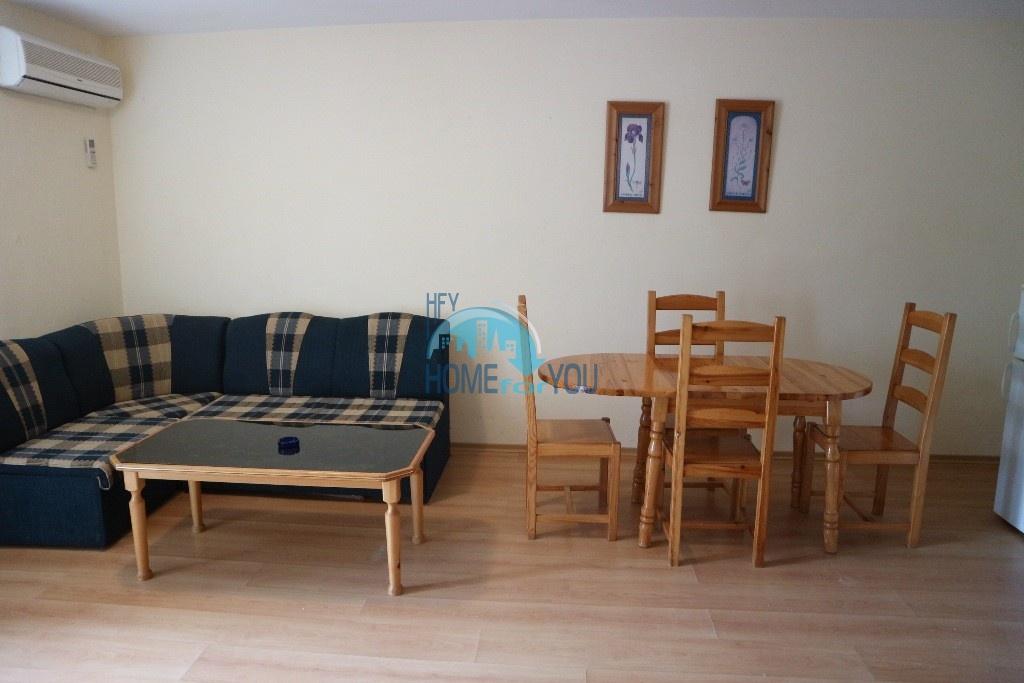 Просторная двухкомнатная квартира в комплексе Престиж Сити, Солнечный берег