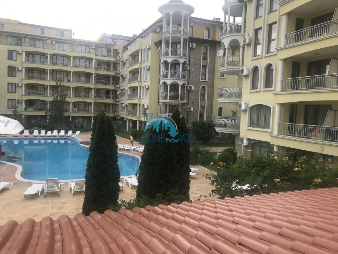 Просторная, меблированная трехкомнатная квартира, комплекс Саммер Дриймс на Солнечном берегу