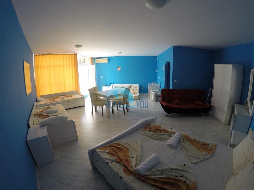 Просторная однокомнатная квартира на Солнечном берегу