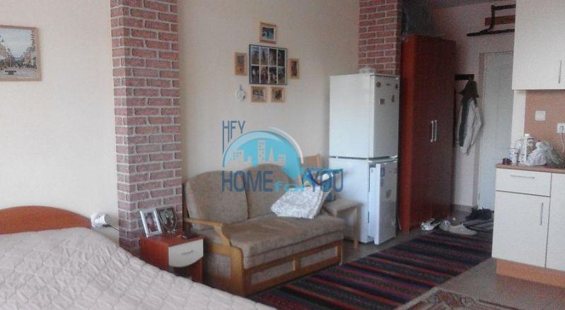 Просторная уютная студия по выгодной цене в курорте Солнечный Берег 2
