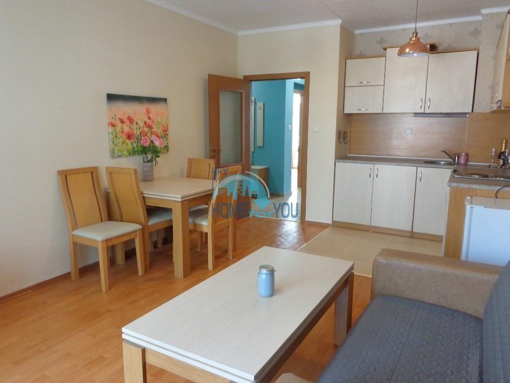 Стильная, просторная трехкомнатная квартира в красивом комплексе Ясен, Солнечный берег
