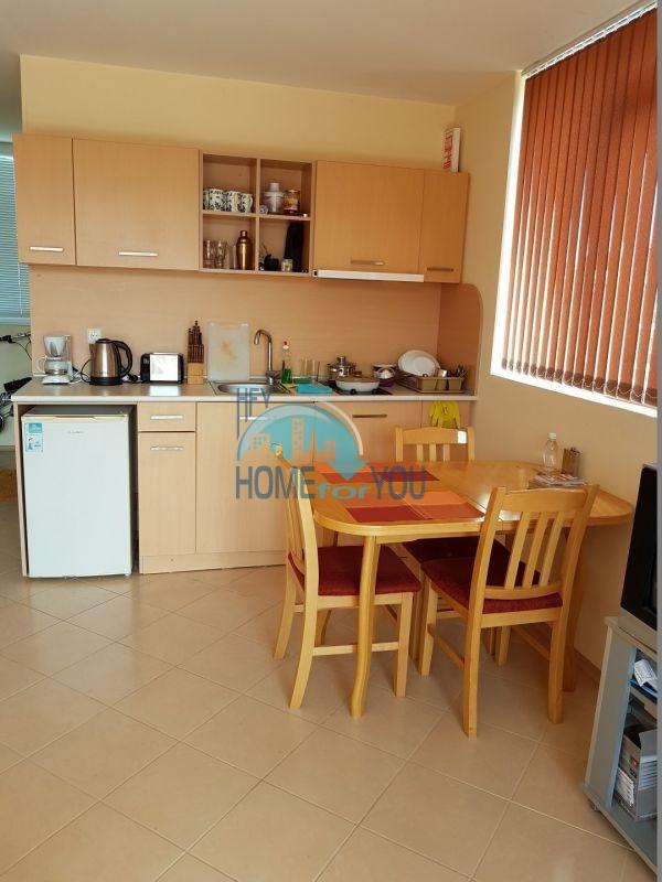 Студия с мебелью на Солнечном берегу по доступной цене  3
