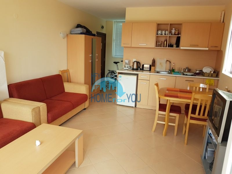 Студия с мебелью на Солнечном берегу по доступной цене