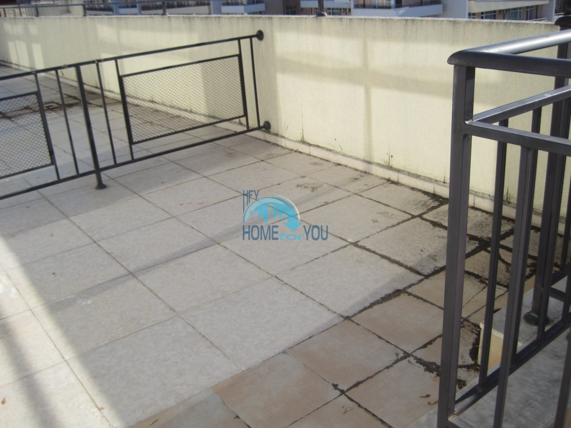 Студия с мебелью в хорошем комплексе в самом центре Солнечного берега 14