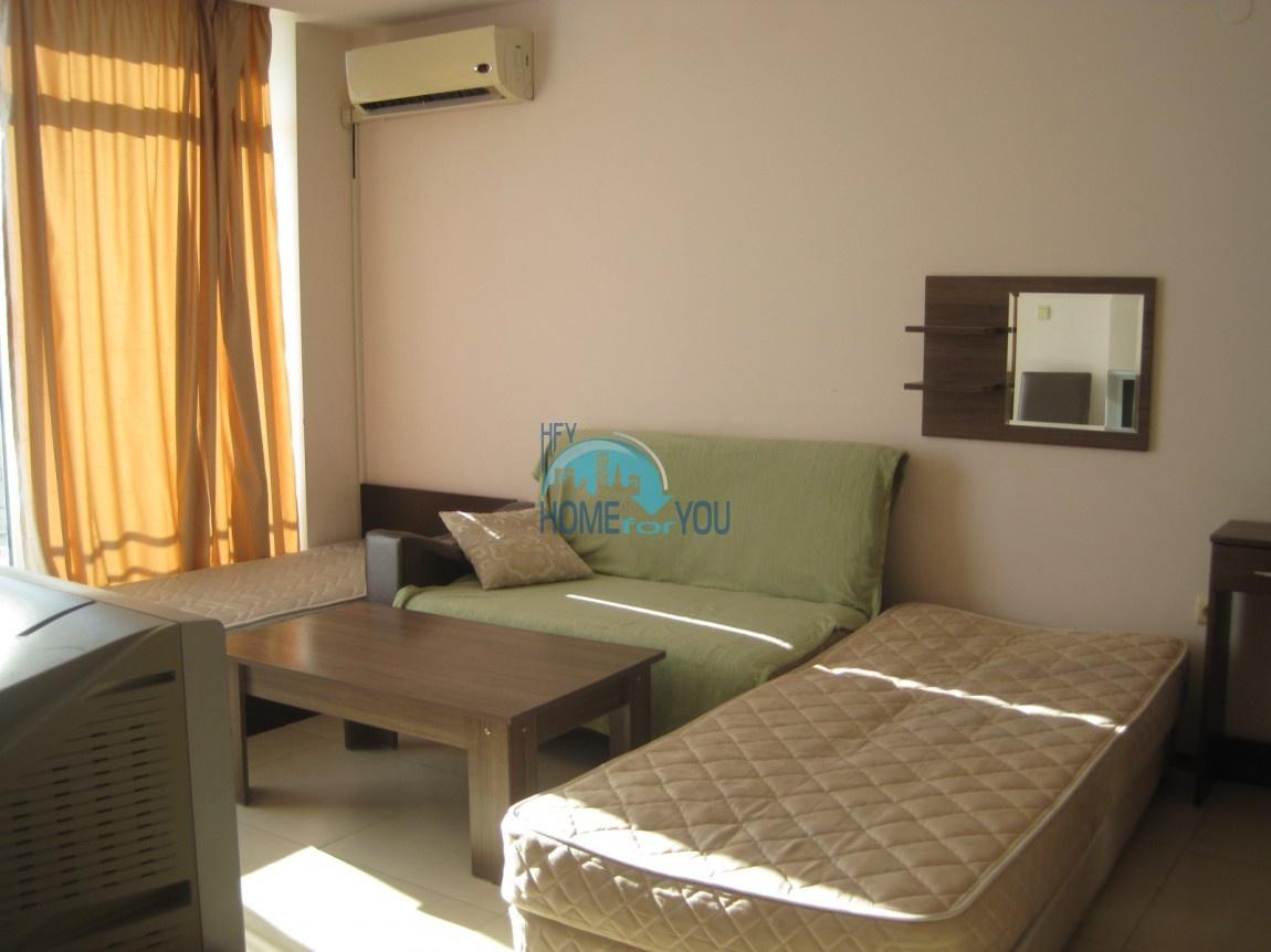Студия с мебелью в хорошем комплексе в самом центре Солнечного берега 8