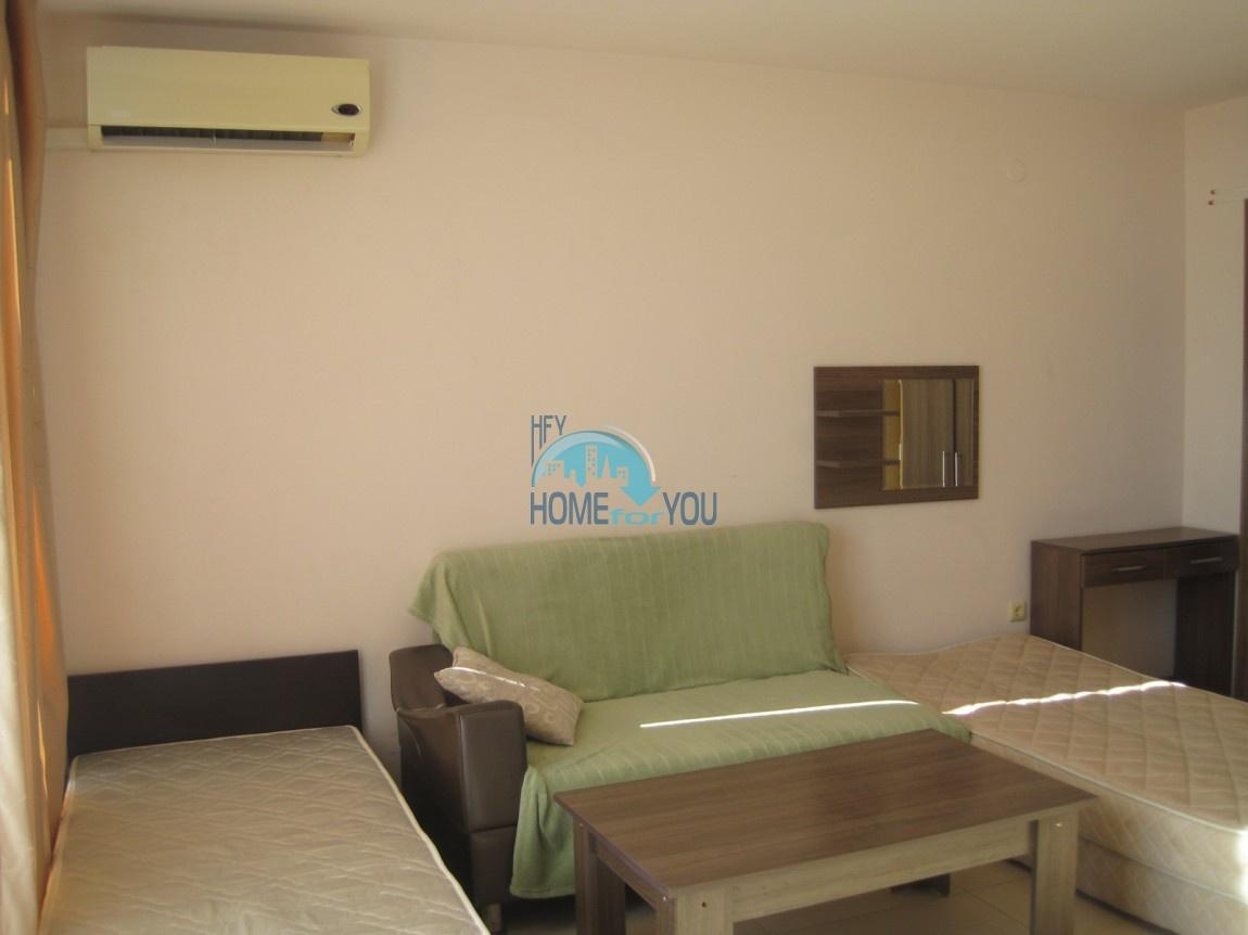 Студия с мебелью в хорошем комплексе в самом центре Солнечного берега 10