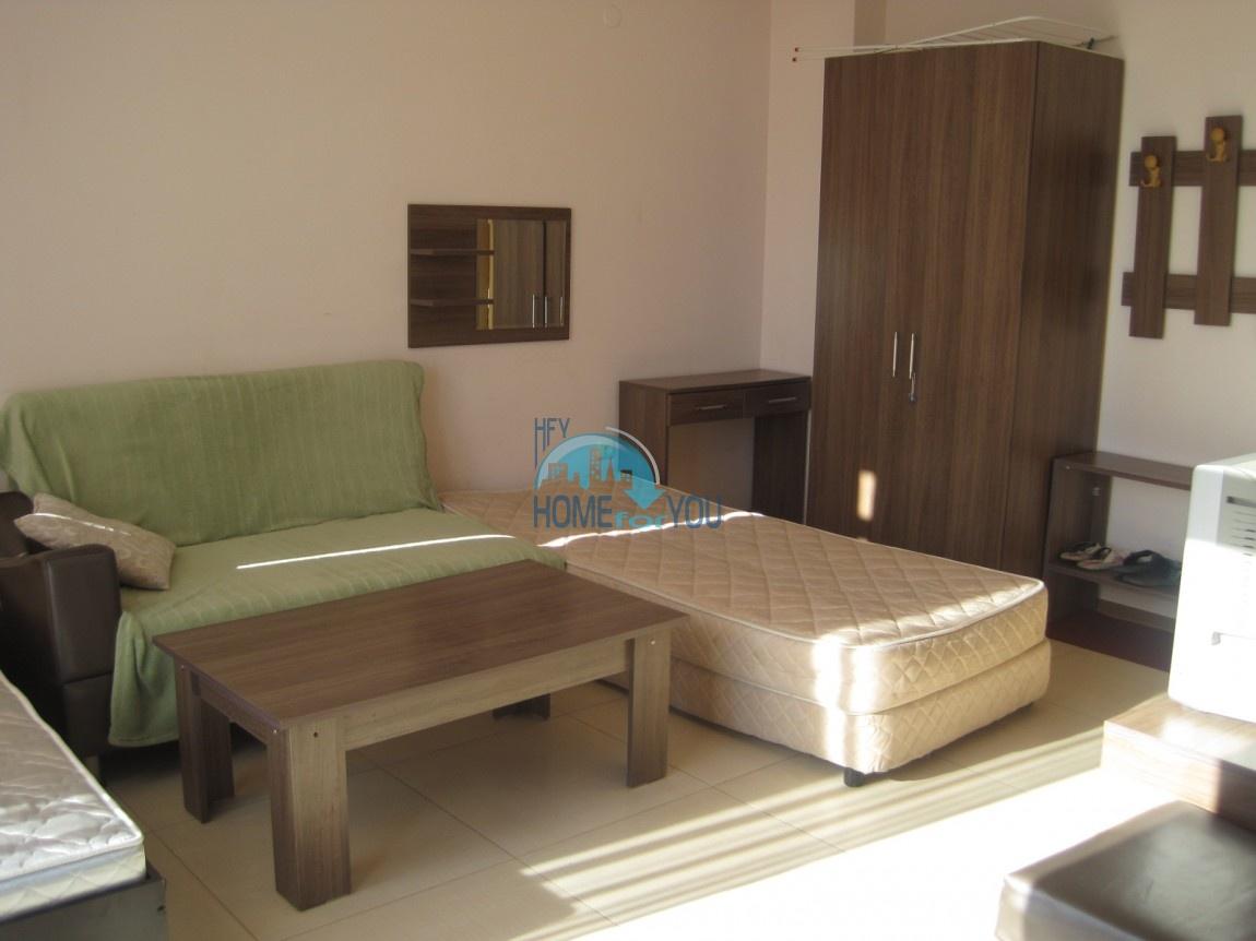 Студия с мебелью в хорошем комплексе в самом центре Солнечного берега 9