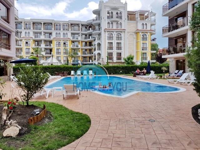 Уютная двухкомнатная квартира по доступной цене на курорте Солнечный берег