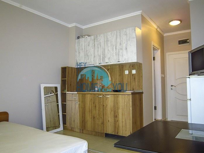 Уютная недорогая студия в центральном районе курорта Солнечный берег 2