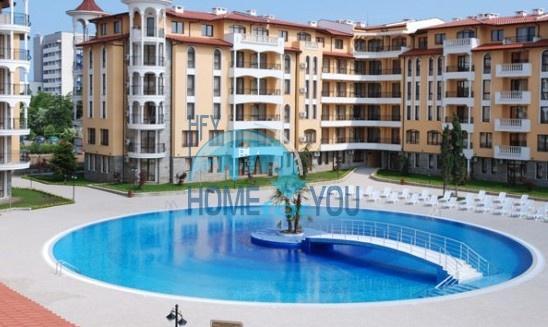 Уютная трехкомнатная квартира с террасой на Солнечном берегу