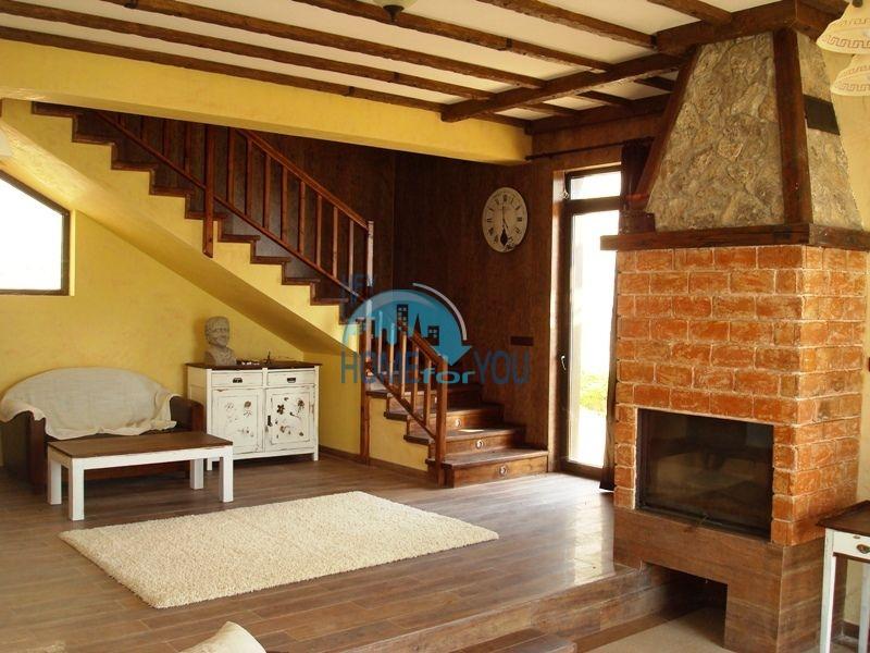 Двухэтажный меблированный дом у моря в городе Созополь 20