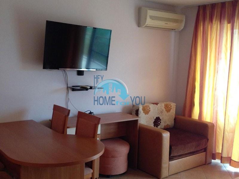 Уютная двухкомнатная квартира в комплексе Аполония-бийч, Созополь