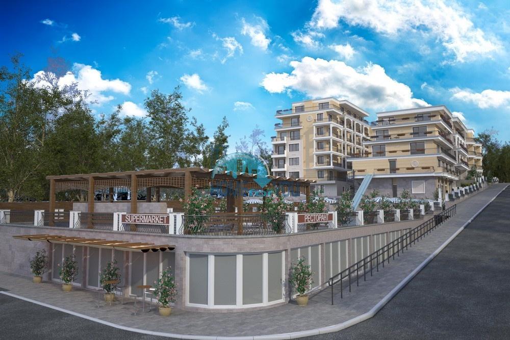 Villa Grand - новый респектабельный комплекс с видом на море и горы в прекрасном курортном городке Святой Влас