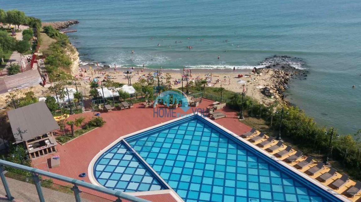 апартамент с видом на море в комфортном комплексе Lost in Paradise, курортный городок Святой Влас