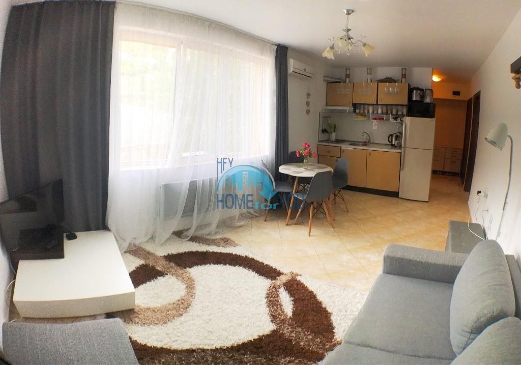 Чудесная, новая двухкомнатная квартира на Святом Власе, комплекс Вилла Марина