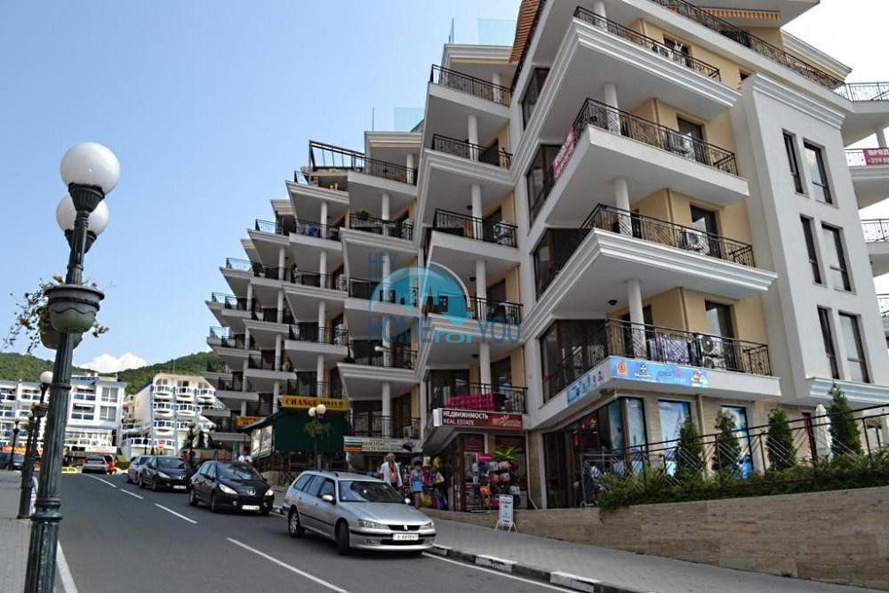 Двухкомнатная квартира с видом на море в Святом Власе
