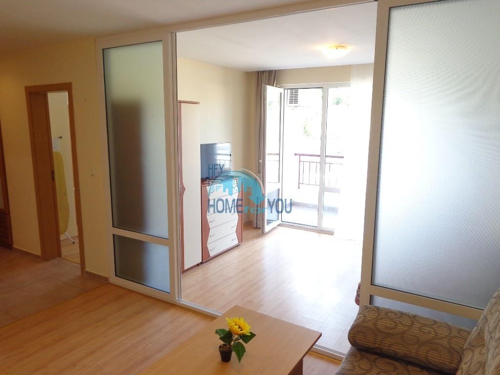 Приятная и светлая трехкомнатная квартира в комфортабельном комплексе «Green Fort», привлекательный Святой Влас 2