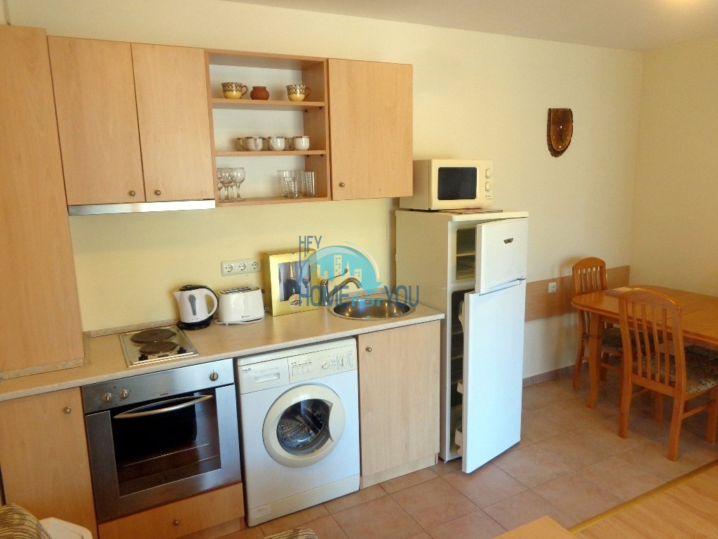 Приятная и светлая трехкомнатная квартира в комфортабельном комплексе «Green Fort», привлекательный Святой Влас 4