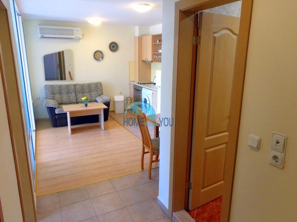 Приятная и светлая трехкомнатная квартира в комфортабельном комплексе «Green Fort», привлекательный Святой Влас 6