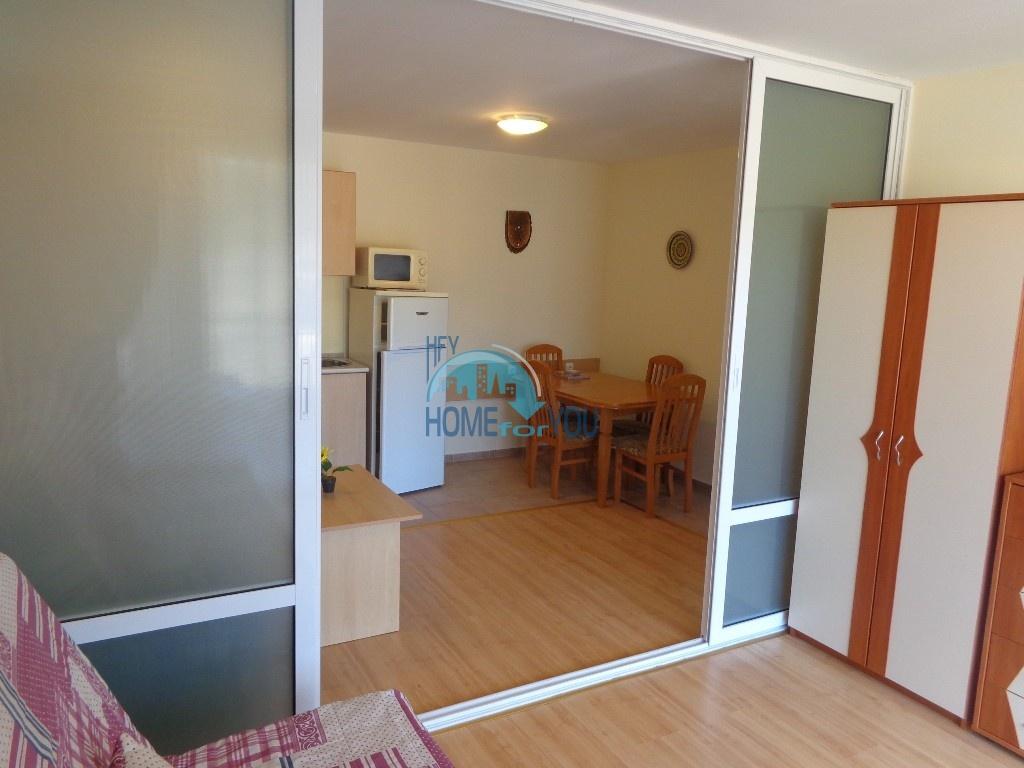 Приятная и светлая трехкомнатная квартира в комфортабельном комплексе «Green Fort», привлекательный Святой Влас 12
