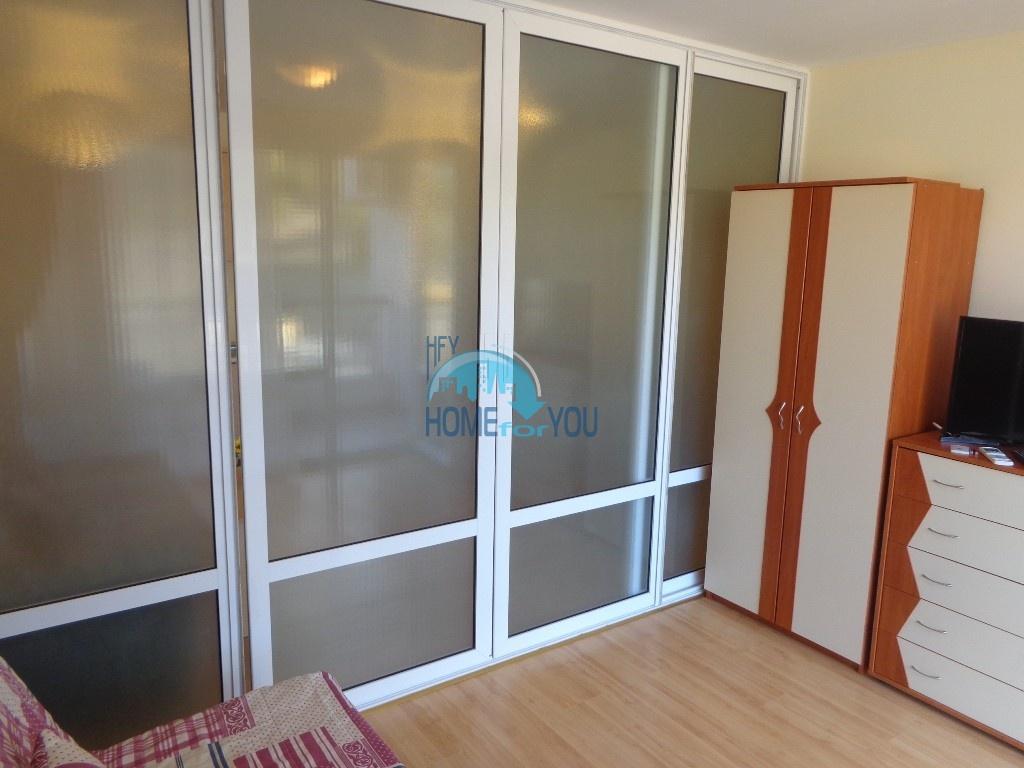 Приятная и светлая трехкомнатная квартира в комфортабельном комплексе «Green Fort», привлекательный Святой Влас 13