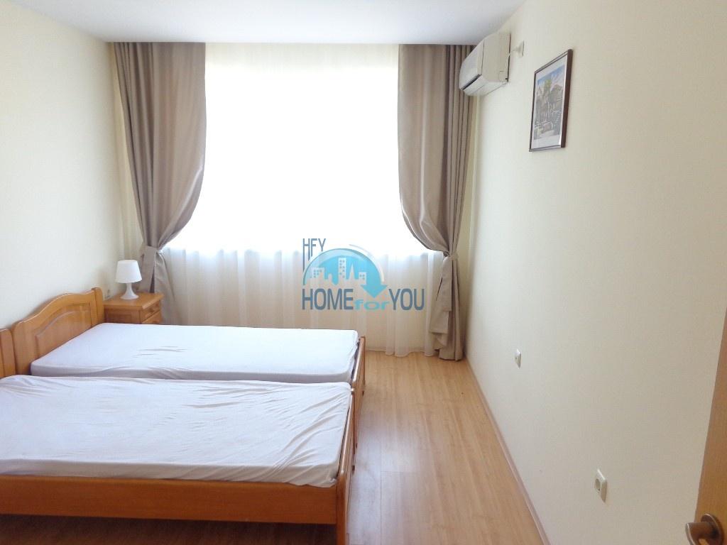 Приятная и светлая трехкомнатная квартира в комфортабельном комплексе «Green Fort», привлекательный Святой Влас 19