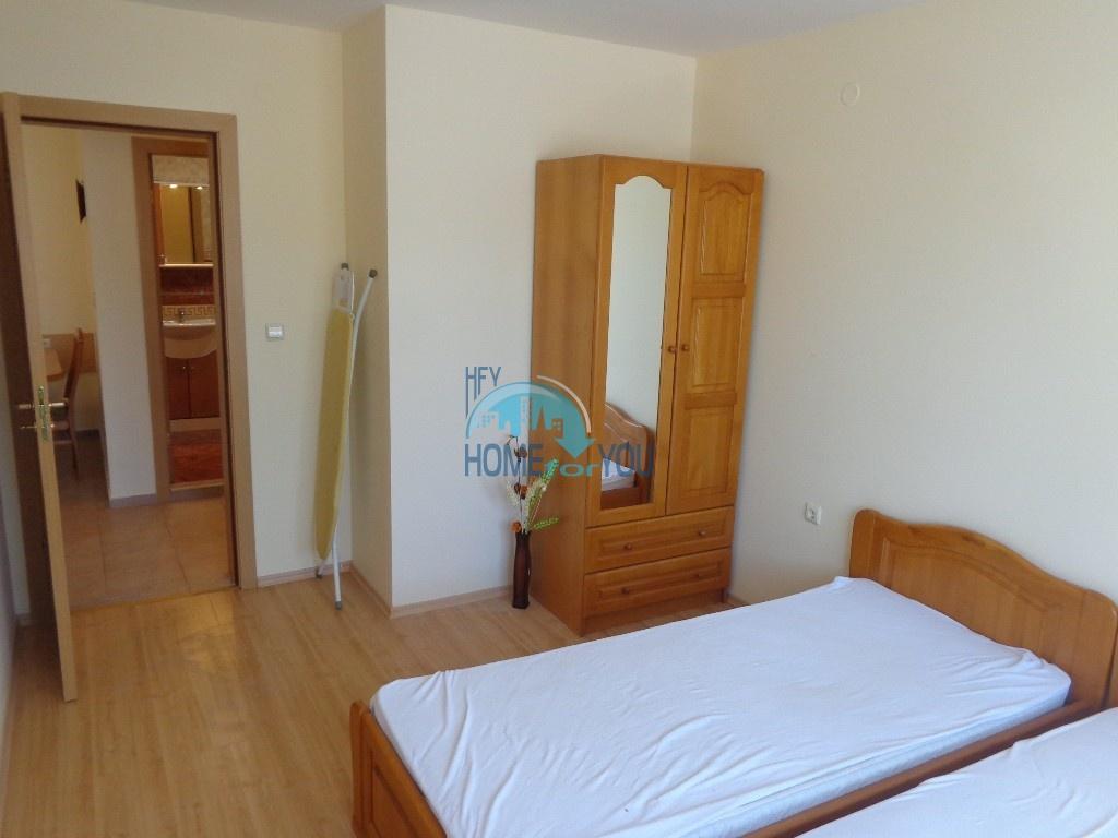 Приятная и светлая трехкомнатная квартира в комфортабельном комплексе «Green Fort», привлекательный Святой Влас 20