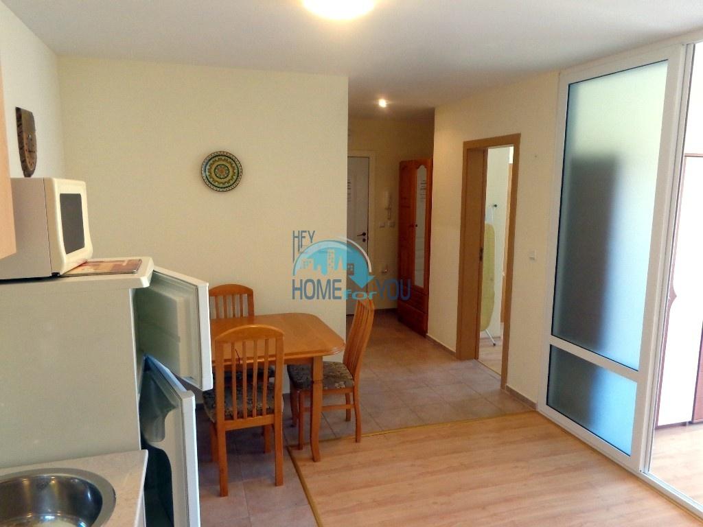 Приятная и светлая трехкомнатная квартира в комфортабельном комплексе «Green Fort», привлекательный Святой Влас 23