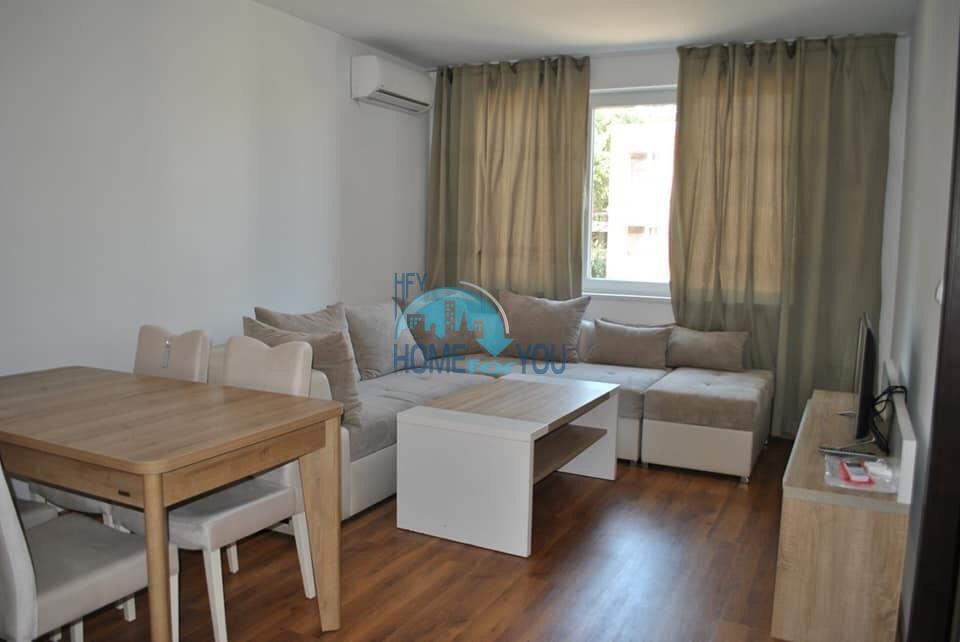Новая, меблированная двухкомнатная квартира в комплексе Вилла Ариа на Святом Власе