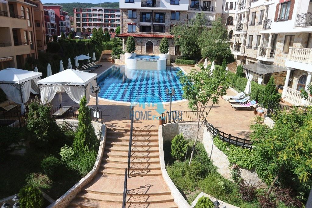 Новый трехкомнатный апартамент в роскошном элитном комплексе Артур, курорт Святой Влас