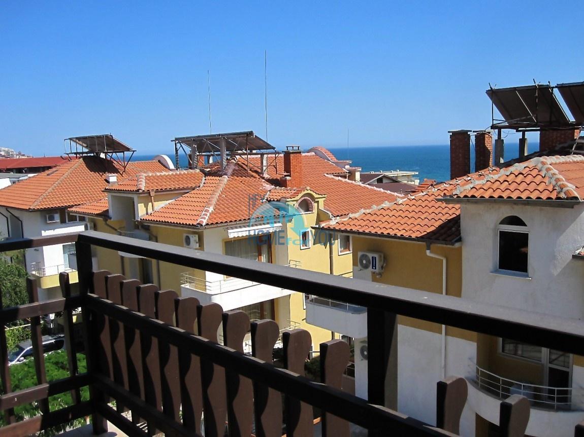 Отличная двухкомнатная квартира с видом на море в комплексе Кентавр, Святой Влас