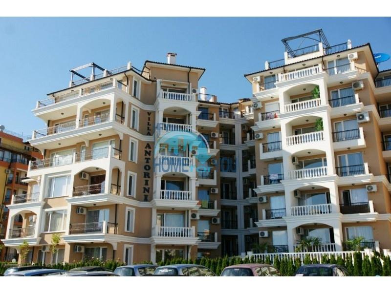 Отличная двухкомнатная квартира в комплексе Вилла Анторини, Святой Влас
