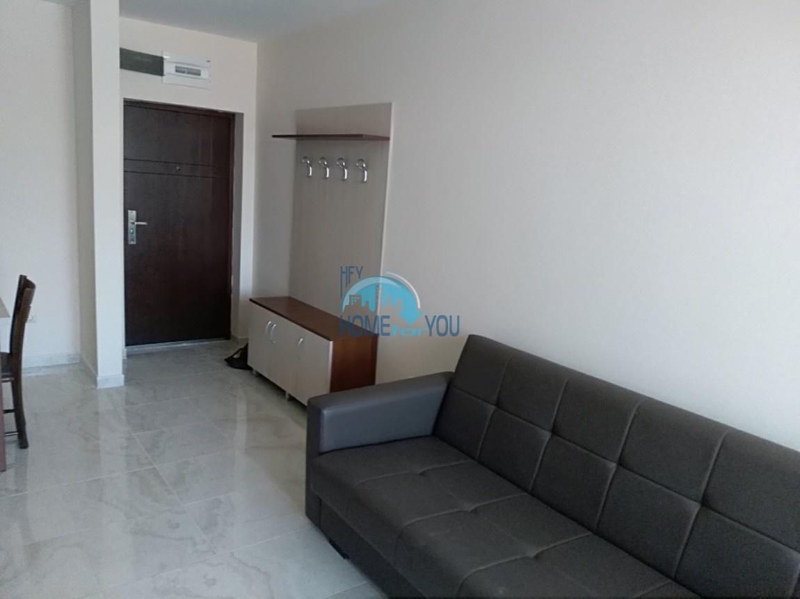 Отличная новая двухкомнатная квартира 58 кв.м. в комплексе Артур, курорт Святой Влас