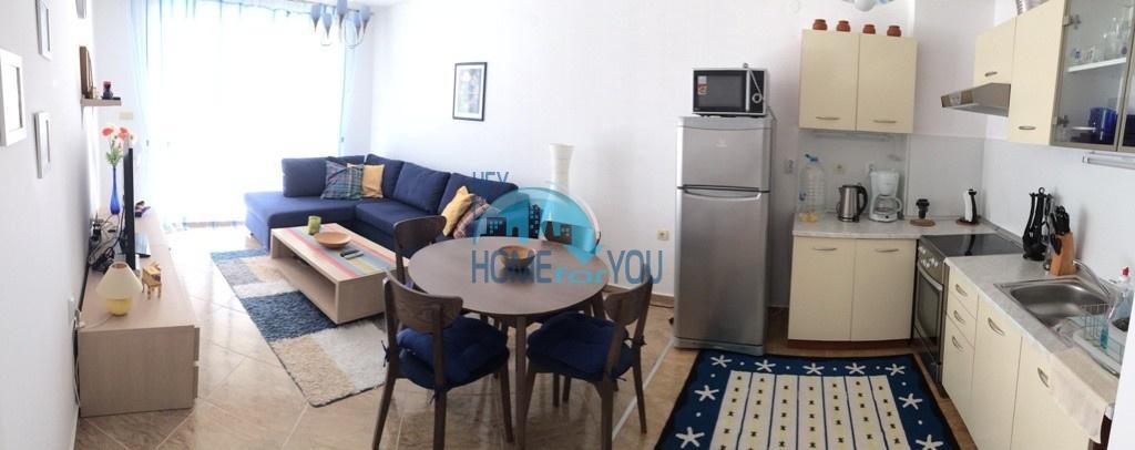 Отличная, уютная двухкомнатная квартира в комплексе Лазур 3, Святой Влас