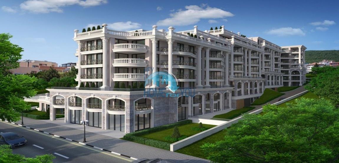 Адмирал – фешенебельный комплекс в престижном районе болгарского курорта Святой Влас