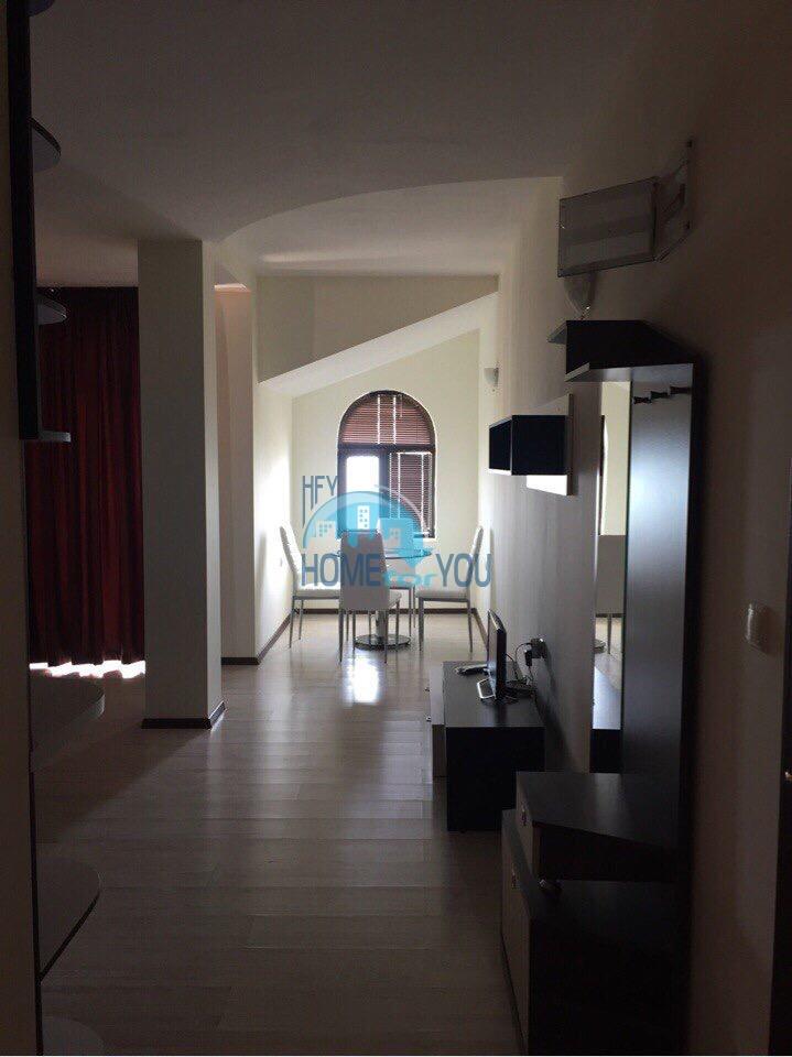 Просторная двухкомнатная квартира с видом на море, в комплексе Виста Маре, Святой Влас