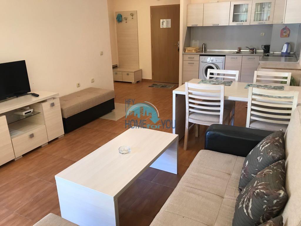 Просторная двухкомнатная квартира в комплексе Панорама Дриймс, Святой Влас