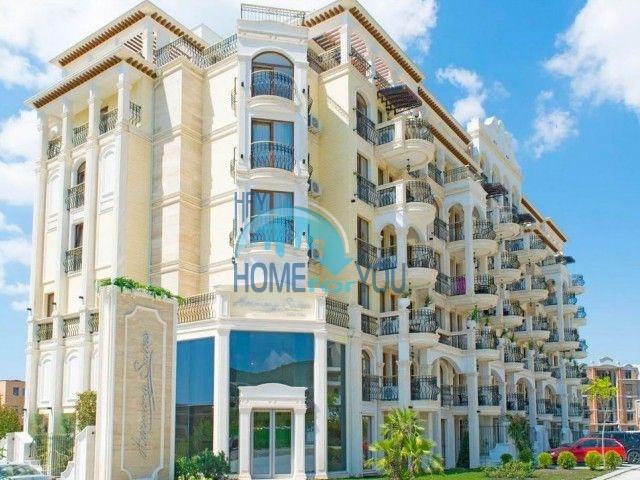 Трехкомнатная квартира с видом на море  в шикарном комплексе - Святой Влас 21