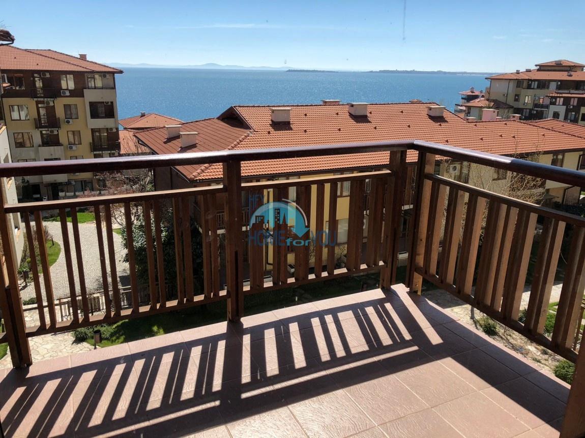 Трехкомнатная квартира с шикарным видом на море в комплексе Райский сад 14