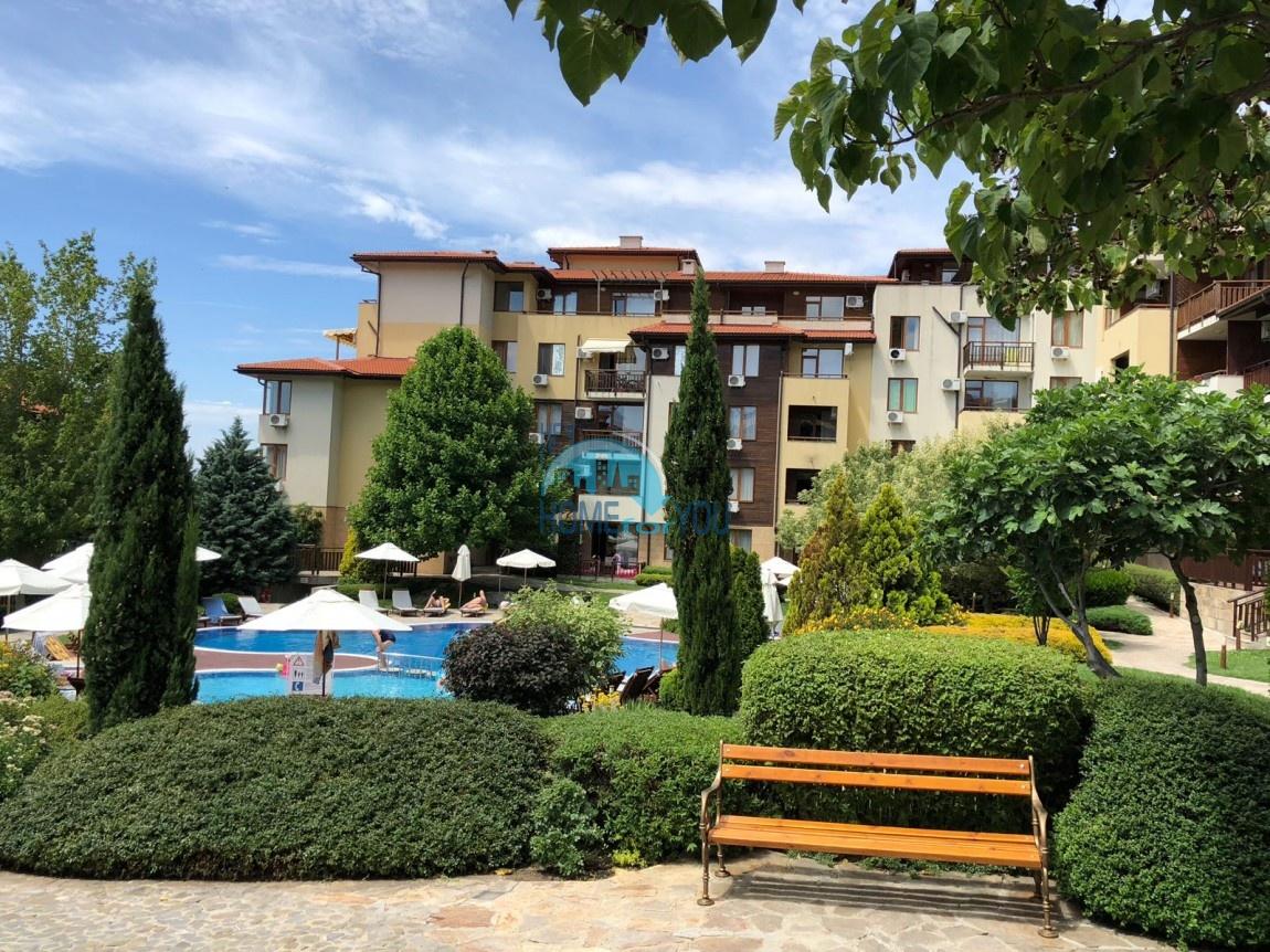 Трехкомнатная квартира с шикарным видом на море в комплексе Райский сад 16