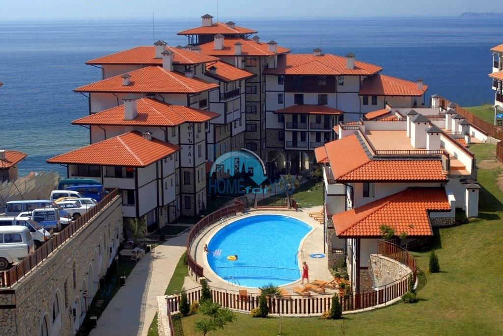Четырехкомнатная квартира с видом на море в Святом Власе