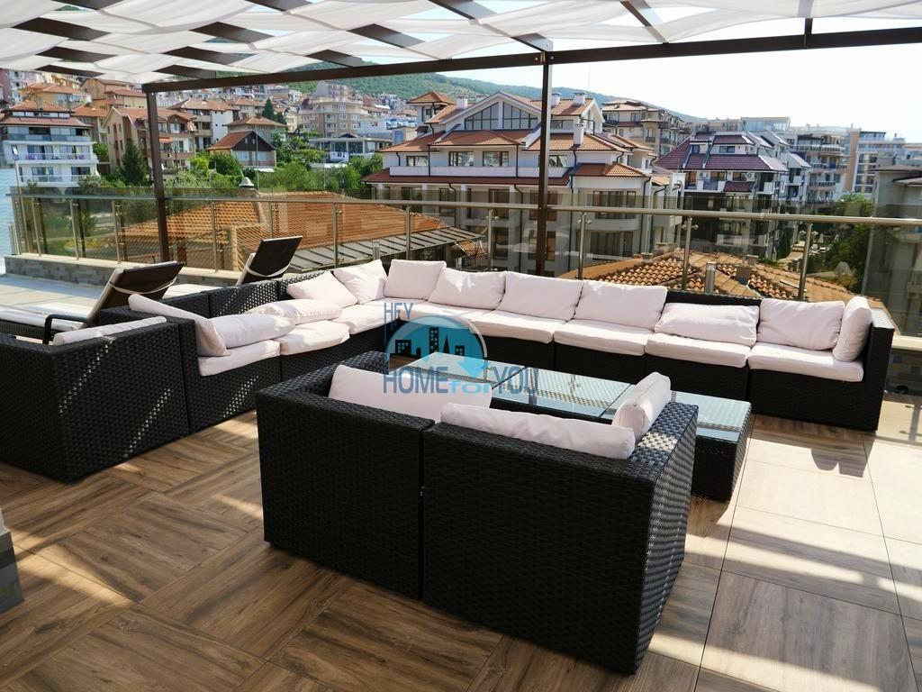 Вилла Аристо - уютные квартиры у подножья горы в Святом Власе. Техника и мебель в подарок! 9