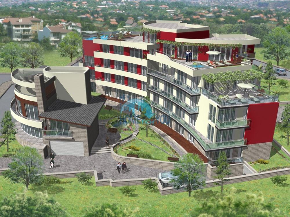 Galateia Residence - уютная атмосфера нового жилого комплекса в самом сердце элитного района, город Варна