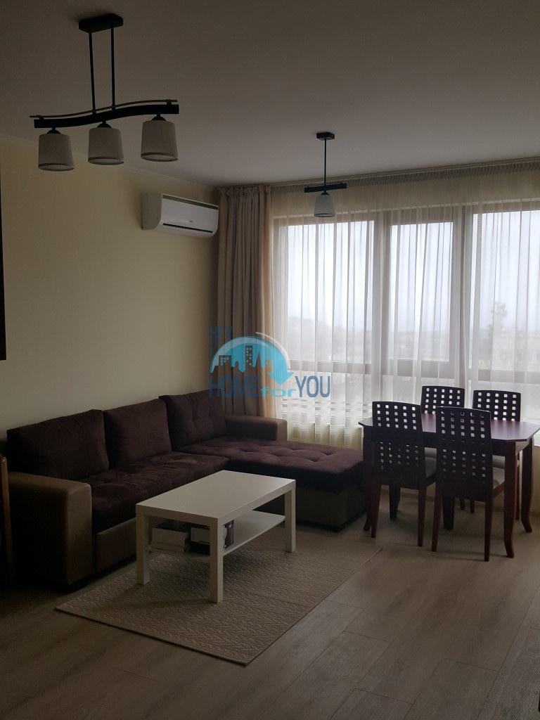 Новая двухкомнатная квартира с панорамным видом на море в Варне