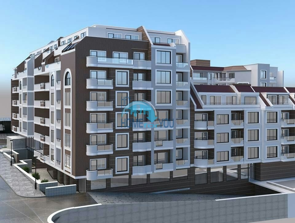 Світлі та затишні апартаменти в привабливому житловому комплексі в кварталі Левскі, місто Варна4022